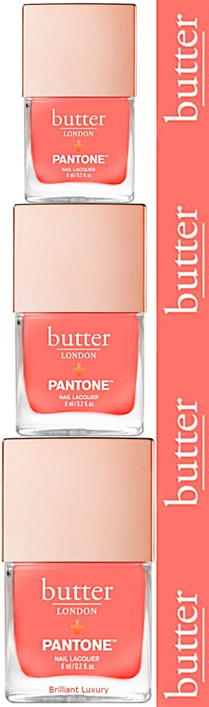 Butter London coral nail lacquer