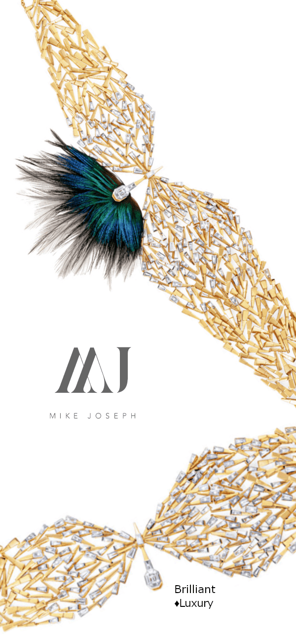 Removable feather attachment 18k gold diamond choker #necklace #jewellery #accessories