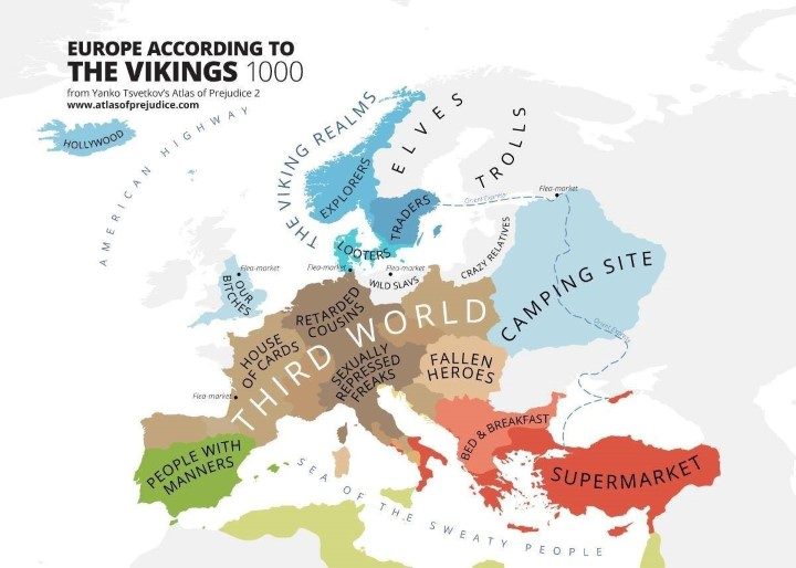 Image result for world according to vikings