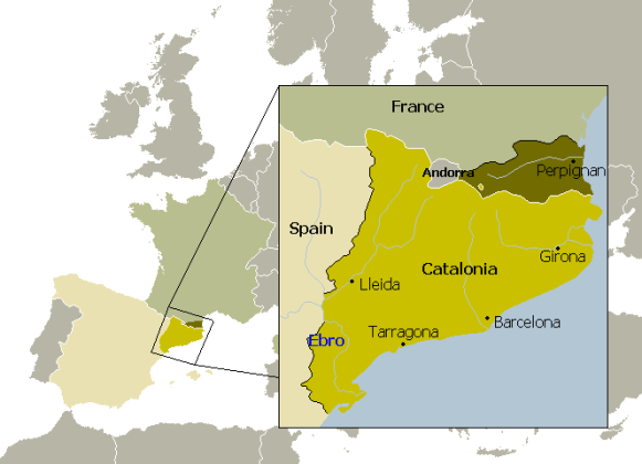 Catalonia   The Catalan Language  10 Facts   Maps     Brilliant Maps Map from wikimedia
