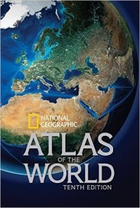 27 Best World Atlases For Map Lovers In 2017     Brilliant Maps National Geographic Atlas of the World