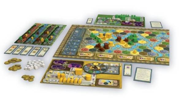 The 28 Best Map Based Strategy Board Games You ve Probably Never     Terra Mystica game map