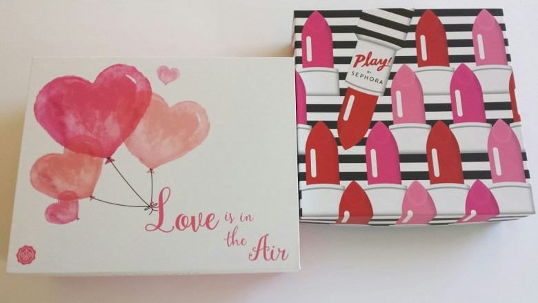 Special design subscription box for Valentine Day 2019
