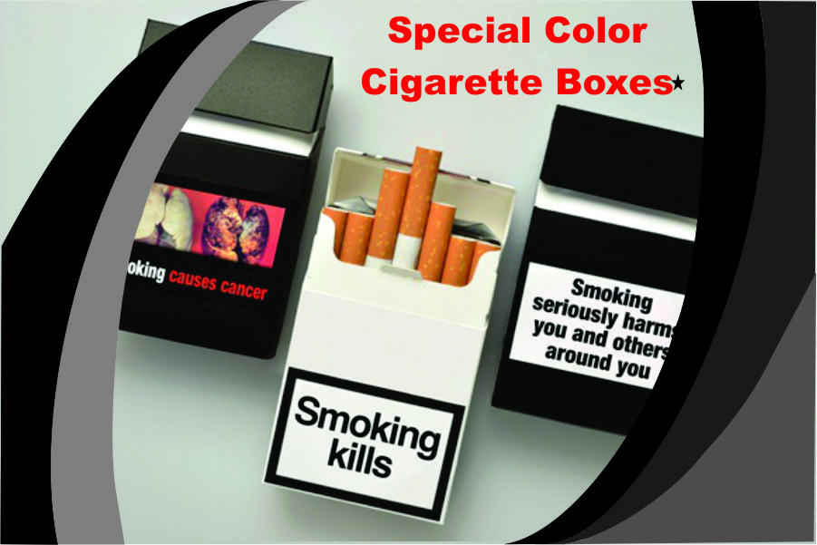 Custom Cigarette boxes