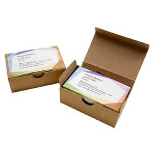 Kraft Business Card Boxes - Kraft Business Card Boxes