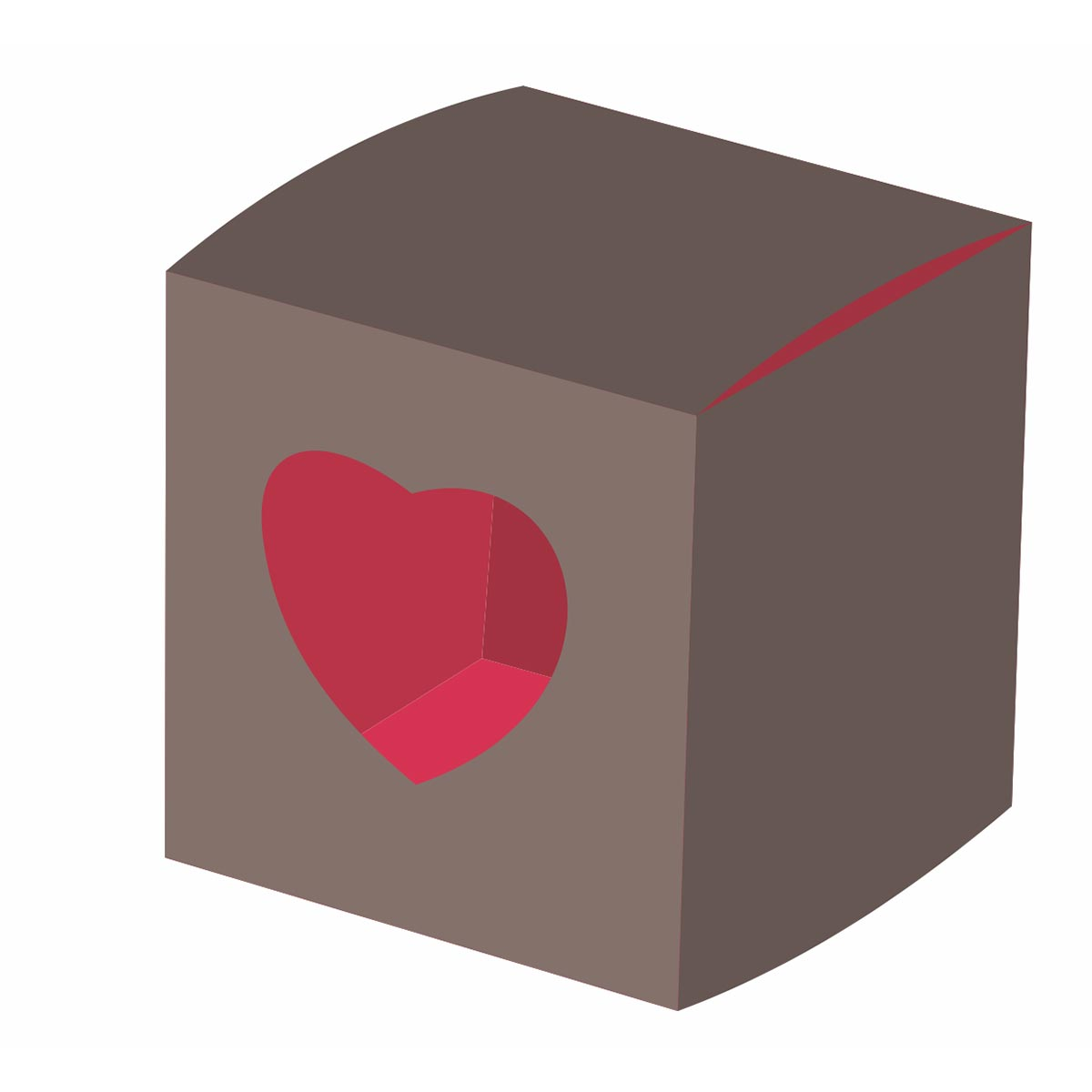 heart shaped valentine box