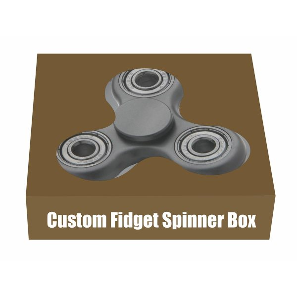 fidget spinner display box