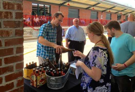 Armbrecht at FestivALL craft beer event