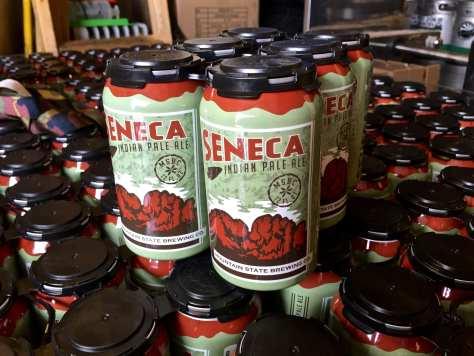 Seneca IPA cans