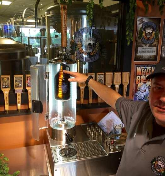 Antietam Brewery growler filling station