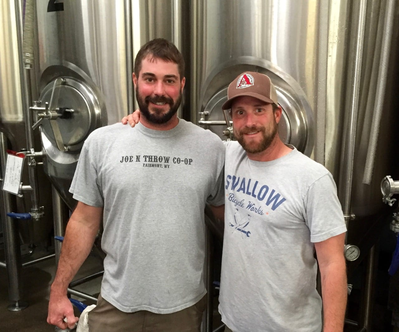 Nate and Adam. Bridge Brew 2016