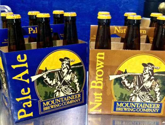 Mountaineer Brewing company six packs