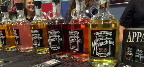 Appalachian Distillery of Ripley, WV inspires moonshine food