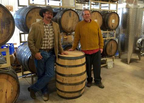 Co-proprietors Josh Bennett (on left) and Will Lewis are the proud papas of Hawk Knob Cidery and Meadery now selling traditional-styled ciders out of Lewisburg, WV.