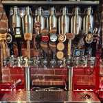 Bricks & Barrels beer taps