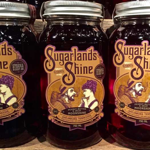 Sugerlands Shine Peanut Butter and Jelly Moonshine