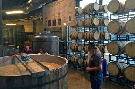 Little distilleries become big attractions in the tourist towns around Tennessee's Great Smoky Mountains. It's been a booming business since the first distillery opened in 2010.