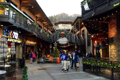 Ole Smoky Moonshine Hollow in Gatlinburg, East Tennessee .