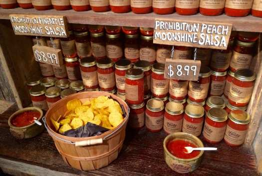 Ole Smoky Distillery also has superb specialty food products, including this salsa.