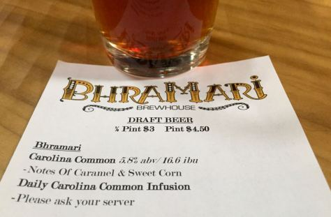Asheville brewery Bhramari Brewhouse