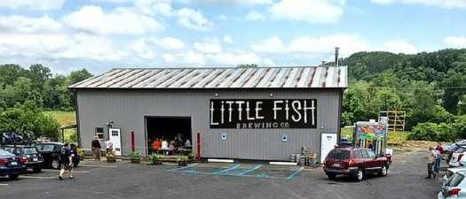 Little Fish Brewing Company building - AECERN