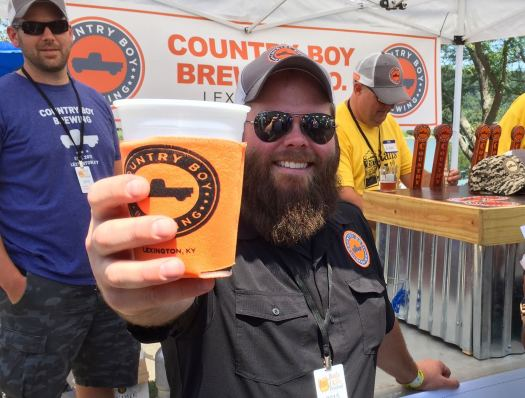 DH Harrison of Country Boy Brewing