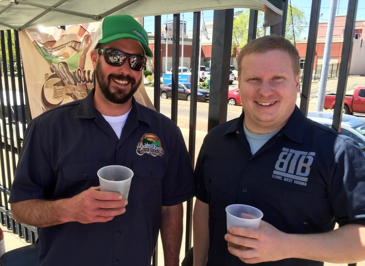 WV beer at ballpark