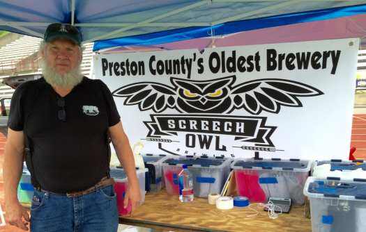 Roger Johnson, founder/brewer at Screech Owl Brewing.