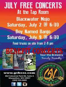Greenbrier Valley Brewing flood relief
