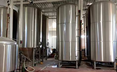 Mountain State Brewing has installed eight new 120-barrel capacity tanks.