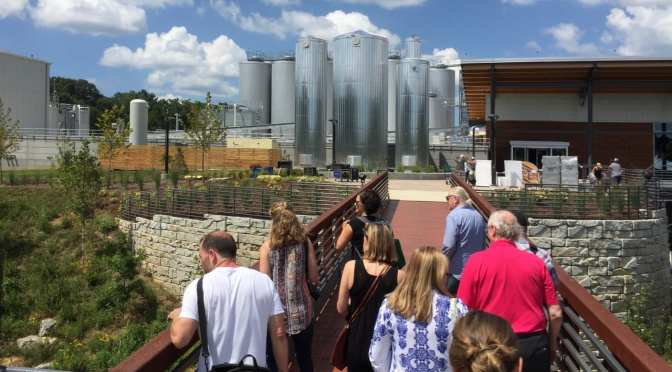 New Belgium Asheville begins public brewery tours