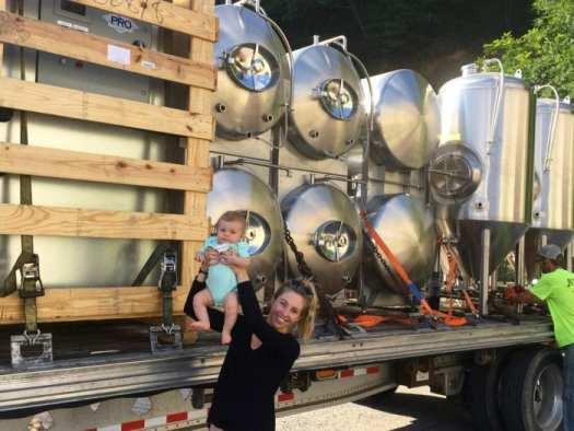 Weathered Ground Brewing equipment