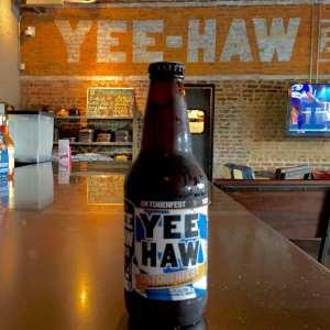 Yee haw Oktoberfest beer