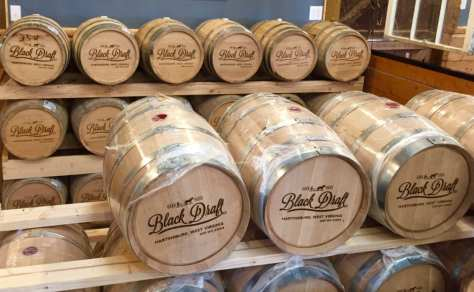 Black Draft Distiller barrels