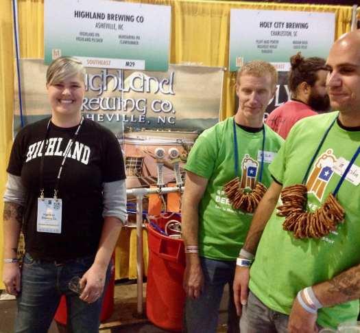 Highland Brewing at GABF 2016