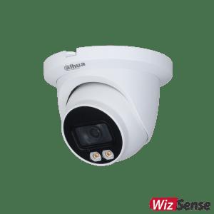 Dahua 4MP AI Starlight+ IP Turret Fixed 2.8 mm, Mic,ICR+White Light, WDR(120dB), Micro SD,IP67, POE, SMD Plus