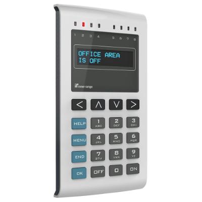 Inner Range EliteX OLED Keypad with SIFER Reader Add-on Module