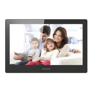 """Hikvision 2nd Gen IP Intercom, 10"""" Touch Screen Room Station, WiFi, 1024 x 600, 12VDC/POE"""