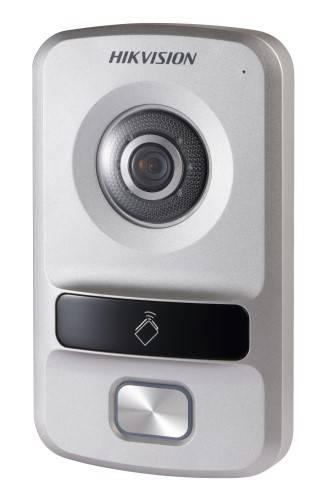 Hikvision Villa Door Station, 1 Button, Plastic, PON, HD720P , IP65