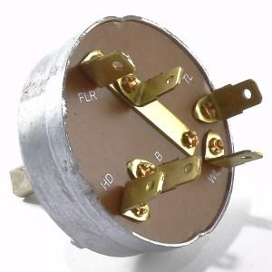 John Deere 4 Position Light Switch (6 Terminal)  The Brillman Company