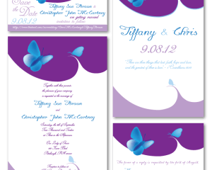 Braun Wedding Stationery