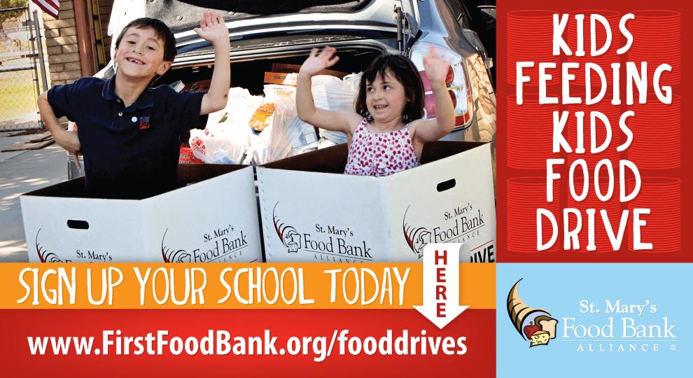 Kids Feeding Kids Food Drive Postcard