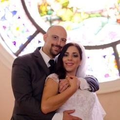 Lopez Moryl Wedding - balcony standing