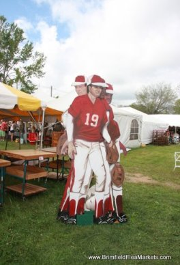 The Meadows field at July Brimfield Shows