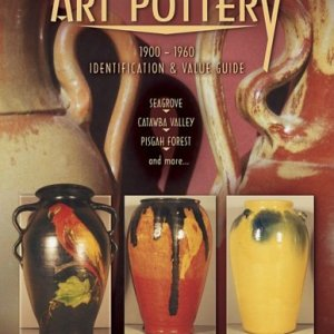 North Carolina Art Pottery 1900-1960 Identification and Value Guide, Seagrove, Catawba Valley, Pisgah Forest and more.