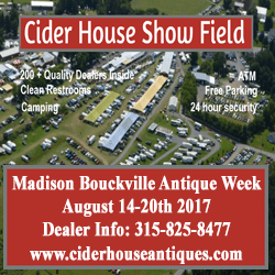 Cider House - 2017 Antique Week