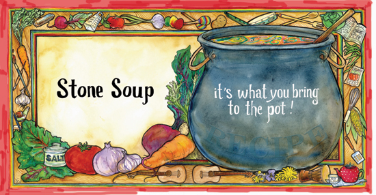 Image result for stone soup story