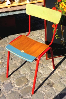 Recycled Chair by Fortuitous Novelties