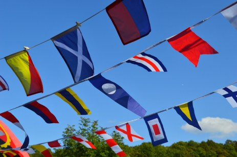 Nautical Flags at Shackerstone