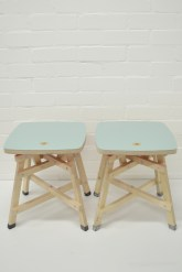 Fort Novs Low Stool Pair